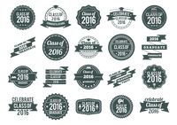 Popular : Set of graduation labels