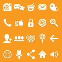 Popular : Set of social media icons