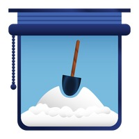 Popular : Snow shovel standing in snow