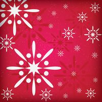 Snowflake background design