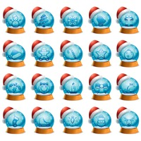 Popular : Snowglobe buttons