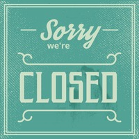 Sorry we re closed wallpaper