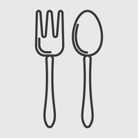 Popular : Spoon and fork