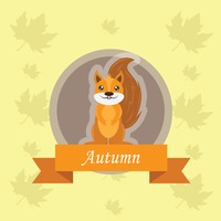 Popular : Squirrel label