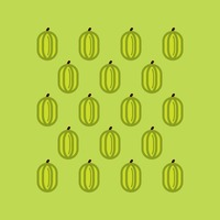 Star fruit pattern background