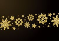Popular : Stars and snowflakes pattern