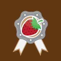 Popular : Strawberry label