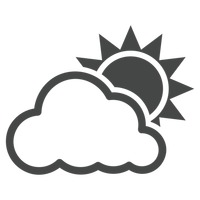 Popular : Sun and cloud
