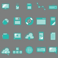 Popular : Technology icon collection