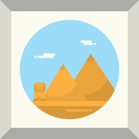 Popular : The great pyramids and the sphinx
