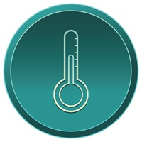 Popular : Thermometer icon