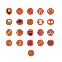 Popular : Various education icons