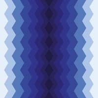 Vertical zigzag pattern