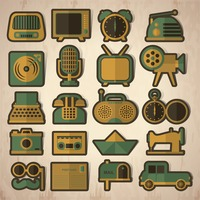 Vintage icons