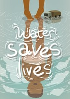Popular : Water save lives poster