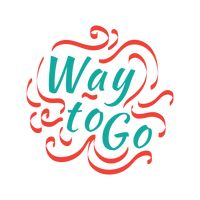 Way to go sticker stock vector. Illustration of message - 128904290
