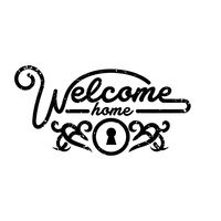 welcome home greeting vector image 1609909 stockunlimited rh stockunlimited com Blessed Clip Art Black and White Welcome Clip Art B