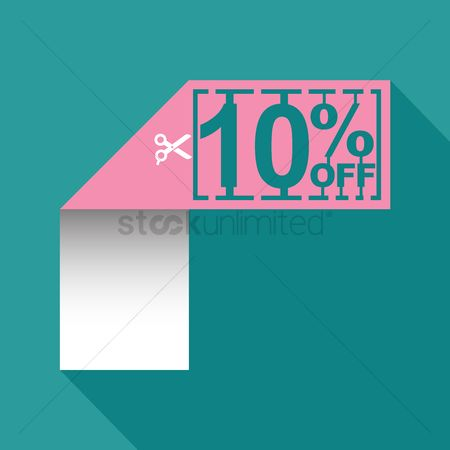 Poster : 10 percent off sale