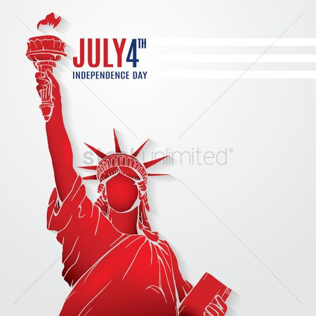 Freedom : 4th of july independence day poster