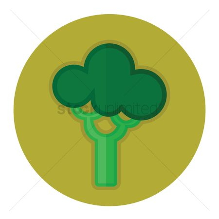 Greens : A broccoli