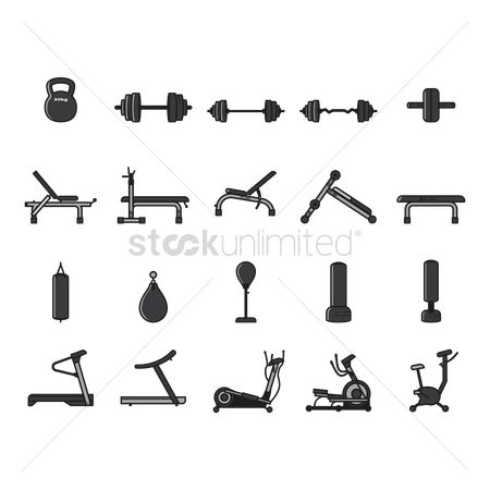 Weight : A collection of gym equipment
