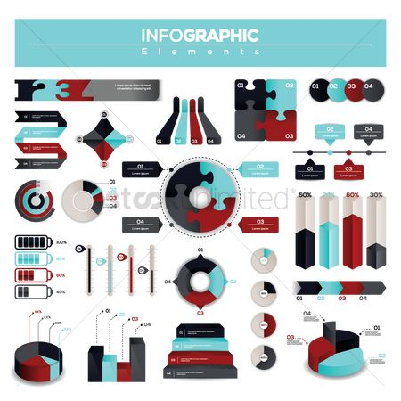 Digit : A collection of infographic elements