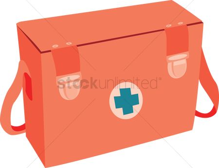 Health cares : A first aid kit bag