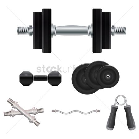 Strength exercise : A set of arm training equipment