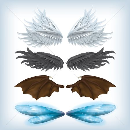 Devils : A set of wing designs