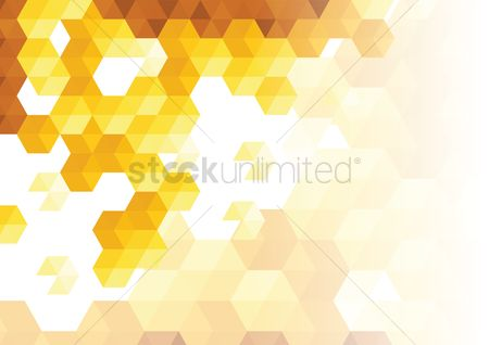 Polygon : Abstract background