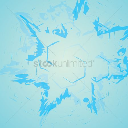 Particles : Abstract background