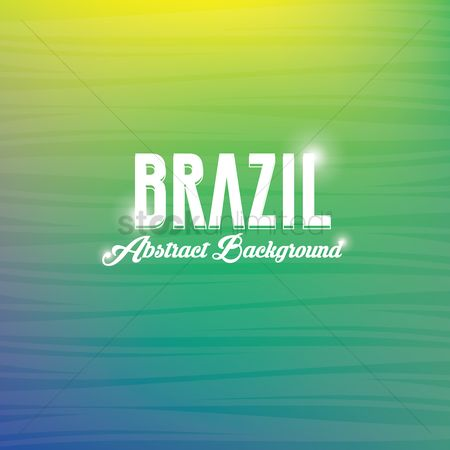 Brazil : Abstract background