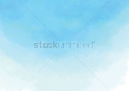Copyspaces : Abstract blue sky background