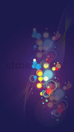 Shine : Abstract bokeh background