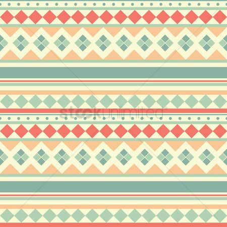 Vintage background : Abstract ethnic background