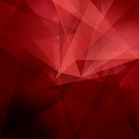 Polygon : Abstract faceted background