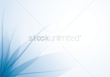 Modern : Abstract floral background