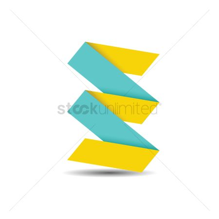 Zig zag : Abstract logo