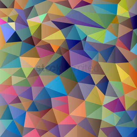 Geometric background : Abstract polygonal background