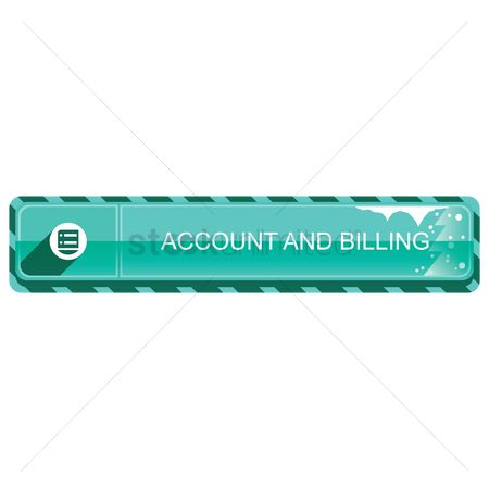 Billing : Account and billing banner button