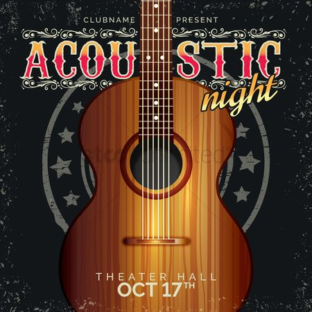 17 : Acoustic night poster