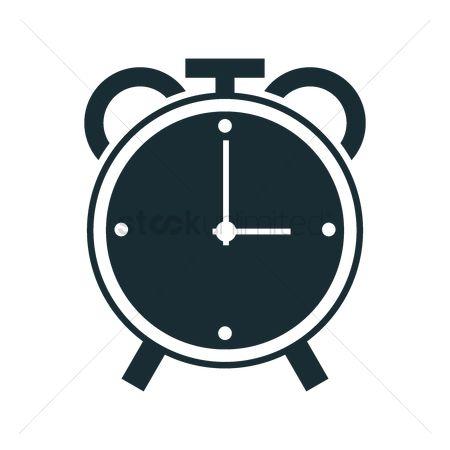 Free Alarm Clock Icon Stock Vectors   StockUnlimited