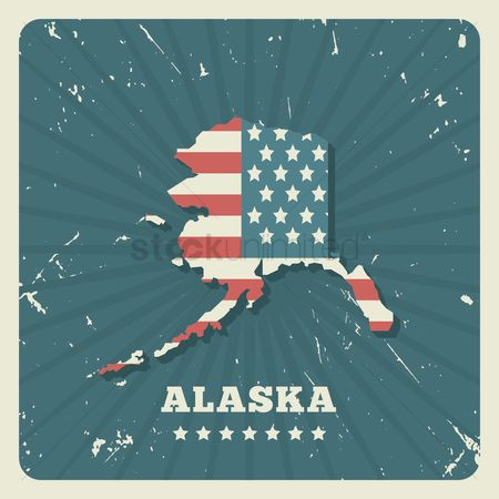 Oldfashioned : Alaska map