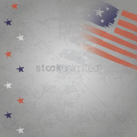 Patriotics : American background design