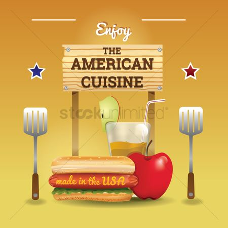 Junk food : American cuisine wallpaper