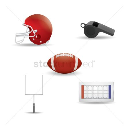 Whistle : American football equipments