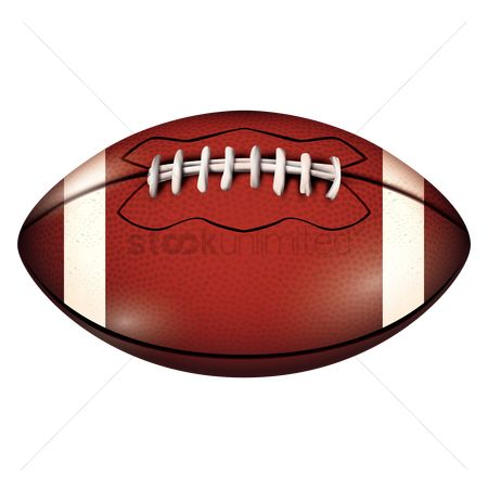 Rugby ball : American football