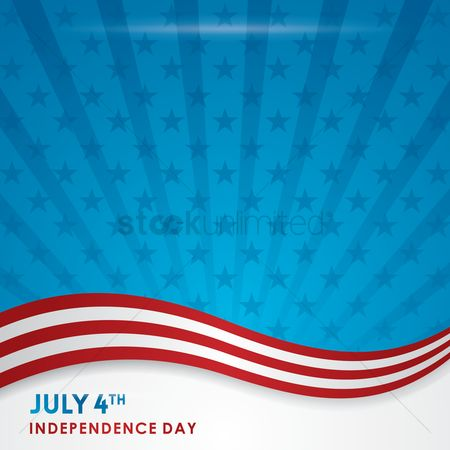 Patriotic : American independence day poster