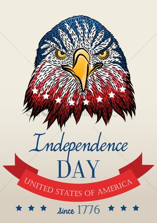 United states : American independence day poster