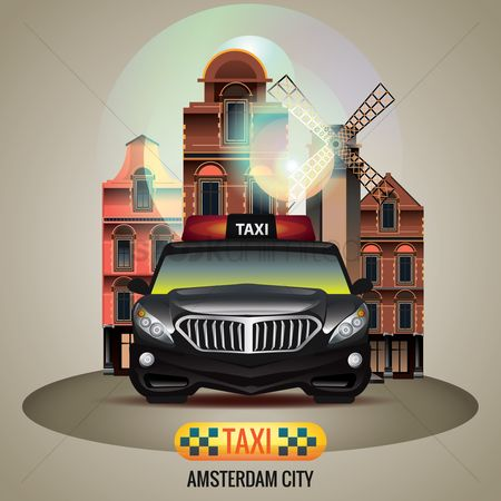 Taxis : Amsterdam city taxi